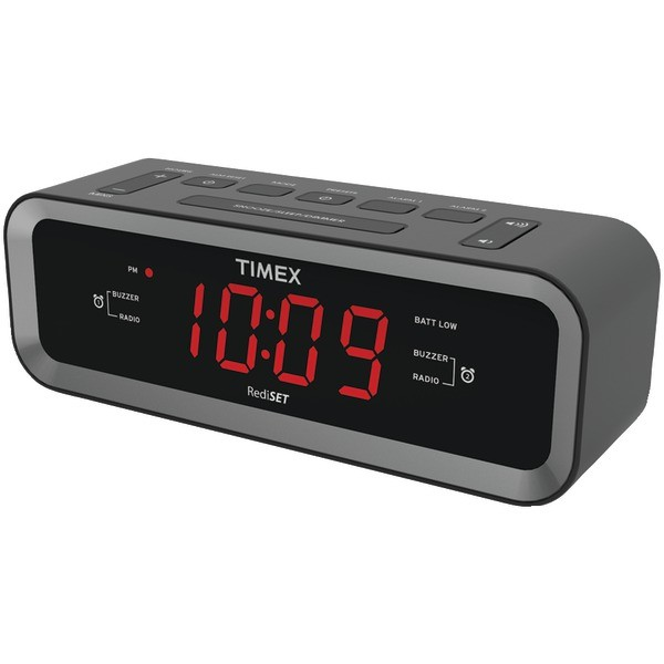 Dual-Alarm Clock Radio with Soothing Sounds in Digital Clocks & Clock ...