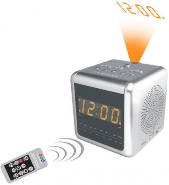 COP-USA ALC-DVR32-SL Alarm Clock Radio Covert DVR Camera, 520TVL SONY ...