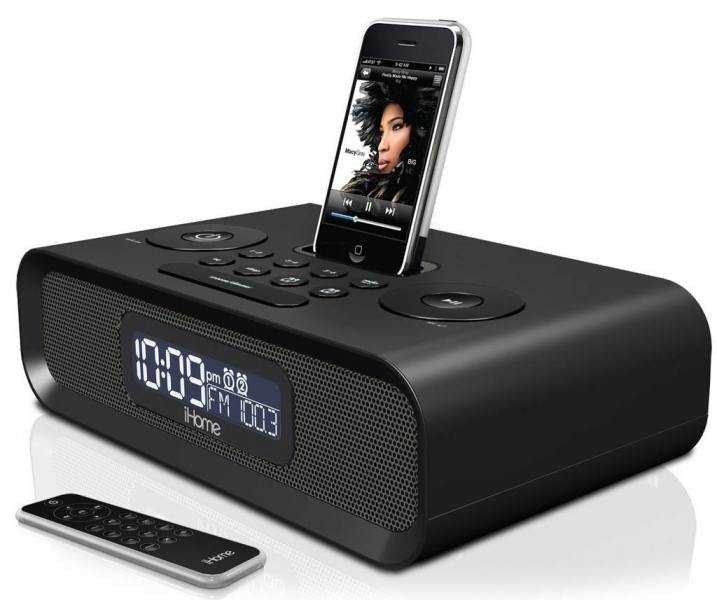 ... Clock Radio iP99 Dual Alarm Clock Radio FM presets Remote Control iPod