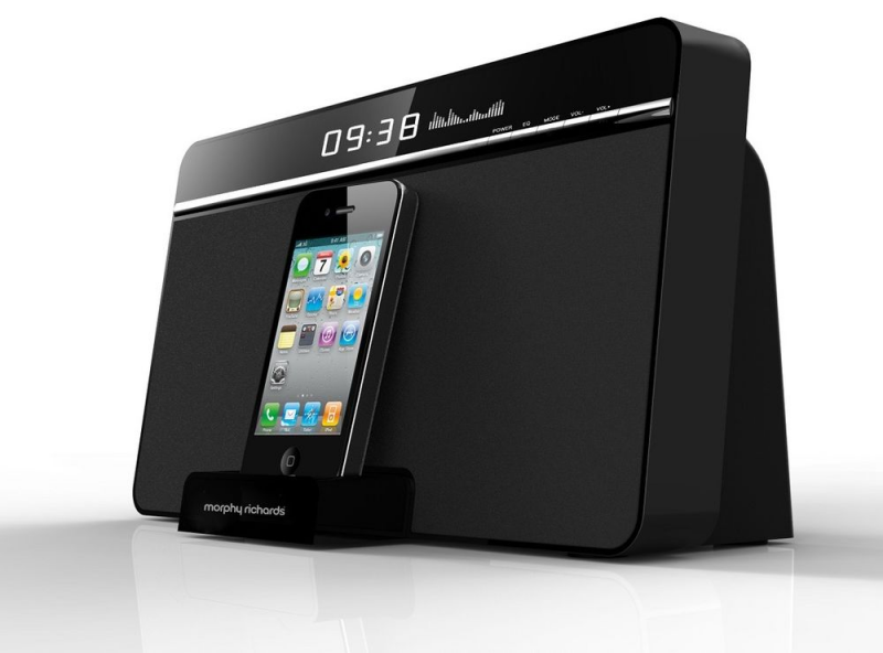 ... Alarm Clock Radio with iPhone and iPod Dock Remote Control | eBay