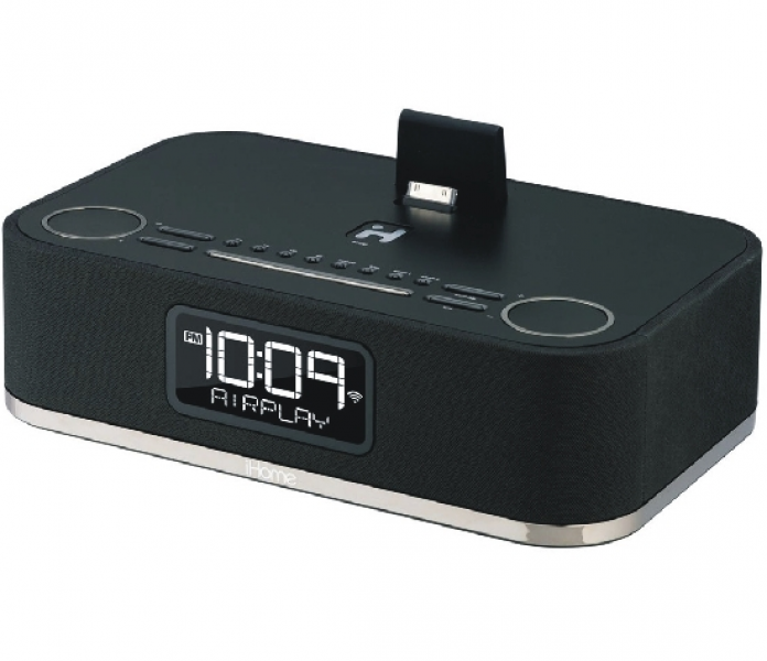 iHome iW4 AirPlay-compatible Clock Radio System Specifications and ...