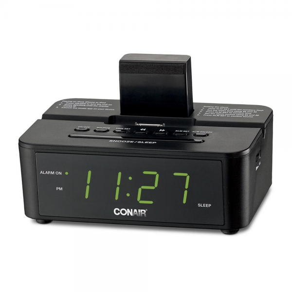 Conair CRD500 Clock Radio with iPod Compatible Dock