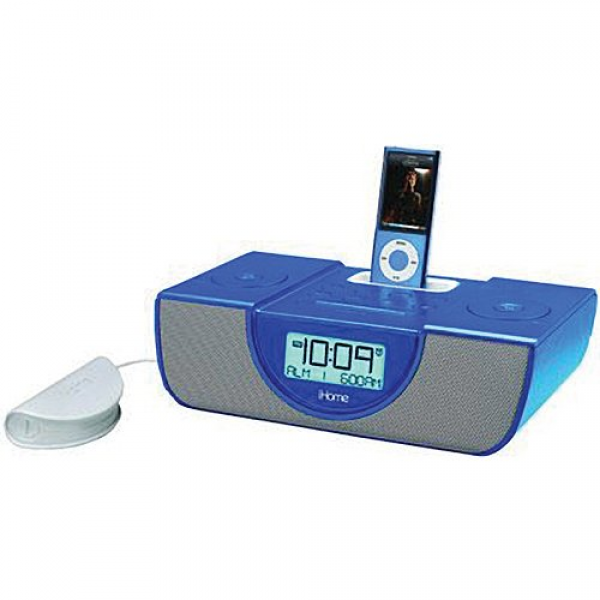 ... iP43LVC with Pillow Shaker 30-Pin iPod/iPhone Alarm Clock Speaker Dock