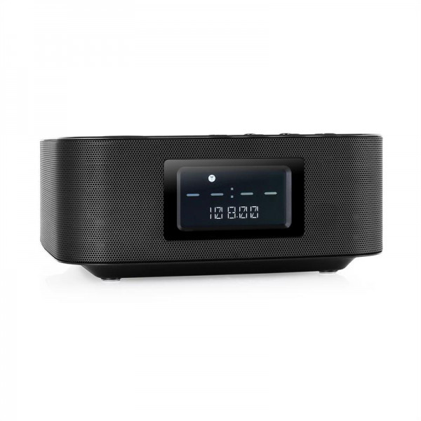 wireless bluetooth speaker alarm clocks radio alarm clocks www top clocks com. Black Bedroom Furniture Sets. Home Design Ideas