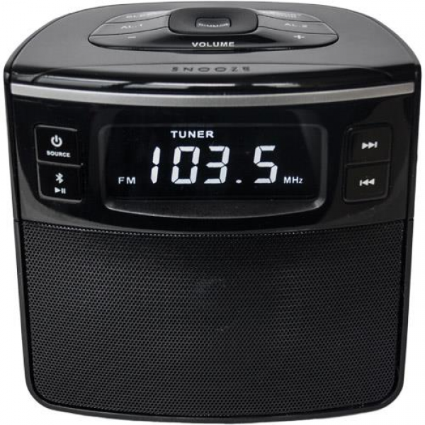 sylvania radio alarm clocks radio alarm clocks www top clocks com. Black Bedroom Furniture Sets. Home Design Ideas