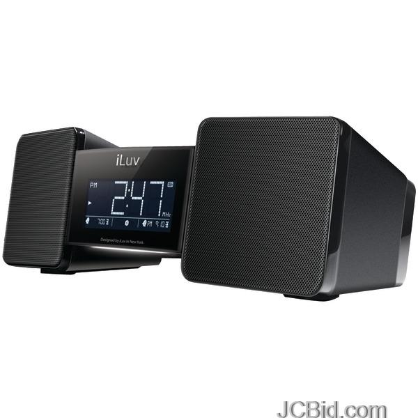 ... tm) Bluetooth(r) Wireless Speaker And Alarm Clock With Shaker - JCBid