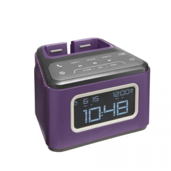 ... Friday HMDX JAM ZZZ Wireless Alarm Clock, HX-B510PU (Purple) from HMDX
