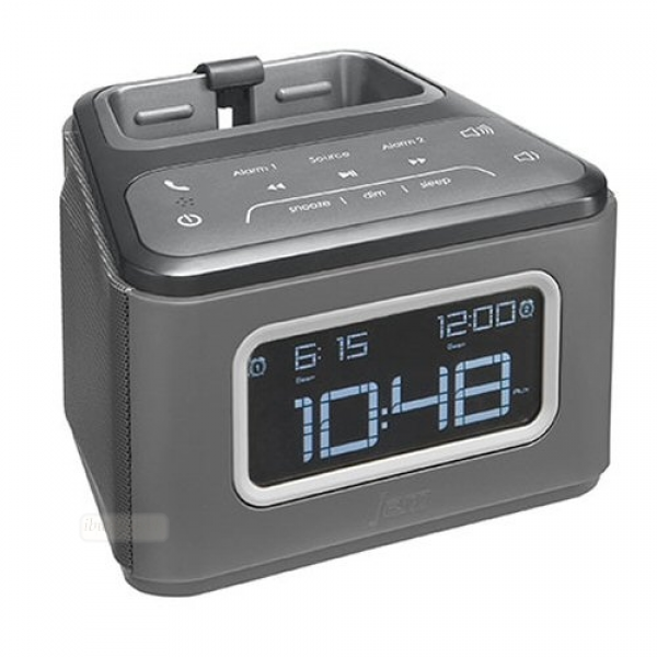 ... alarm clock fm radio usb port new bluetooth wireless alarm clock built