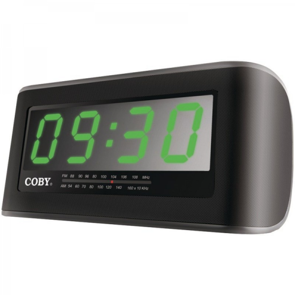 Home » Coby Jumbo Display AM/FM Alarm Clock Radio