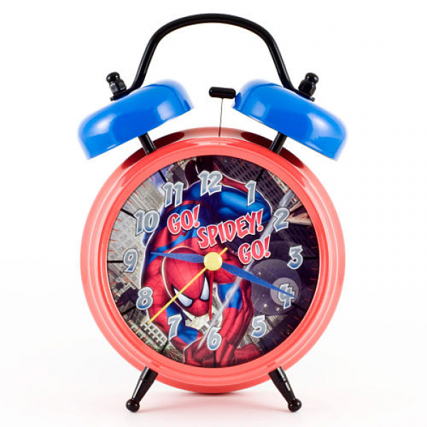 Spider-Man Twin Bell Alarm Clock - M.Z. Berger & Company - ToysRUs