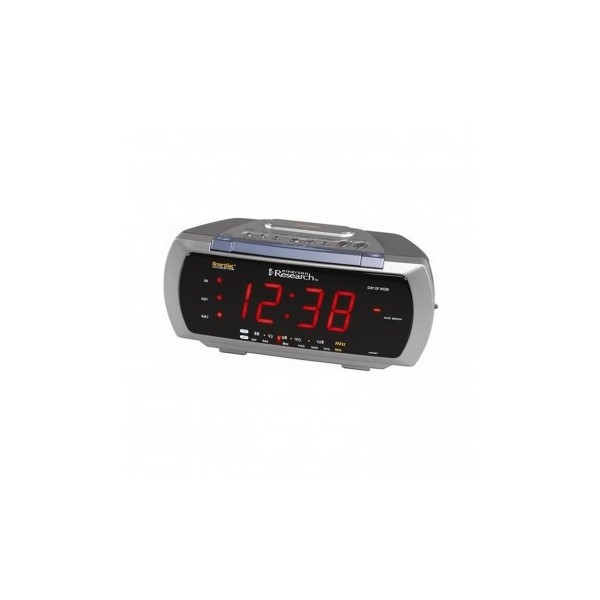 Emerson CKS3088 Emerson SmartSet Dual-Alarm Clock Radio with 4-Way ...