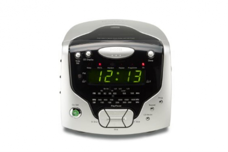 Roberts Radios 3-Band Dual Alarm Stereo Clock Radio with CD Player (CD ...