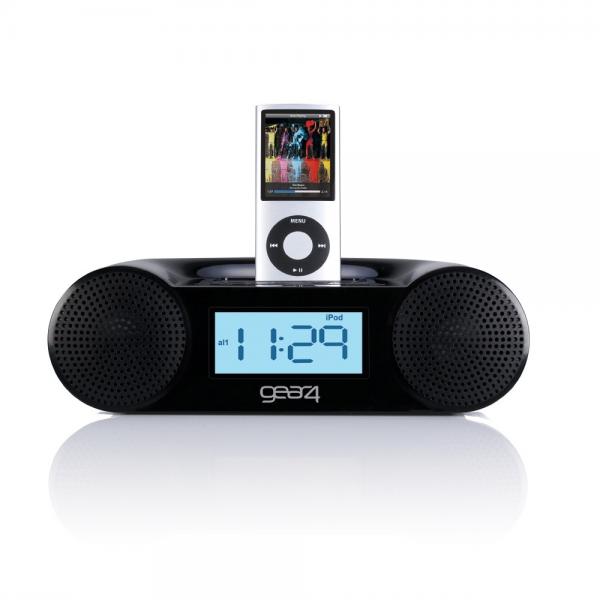 ipod alarm clock radio radio alarm clocks www top clocks com. Black Bedroom Furniture Sets. Home Design Ideas
