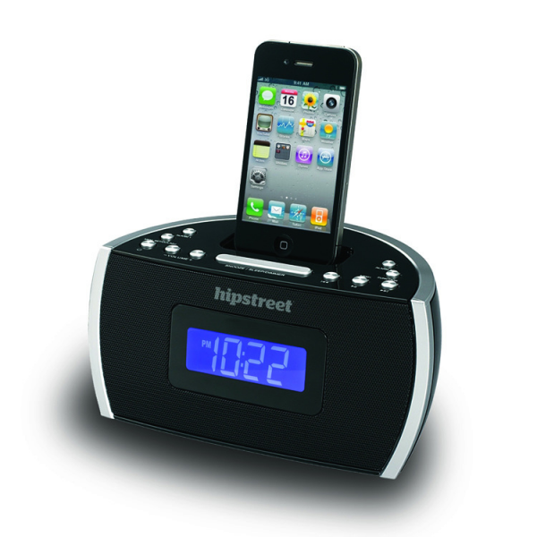ipod alarm clock radio radio alarm clocks www top clocks com. Black Bedroom Furniture Sets. Home Design Ideas