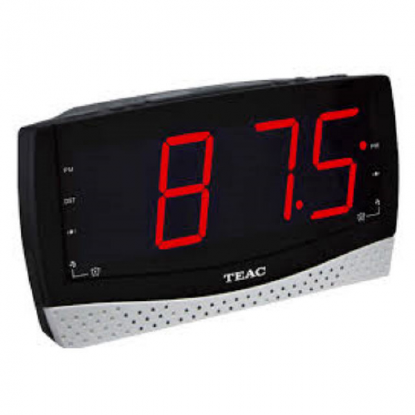 ... alarm clock radio with large display crx185ur teac alarm clock radio