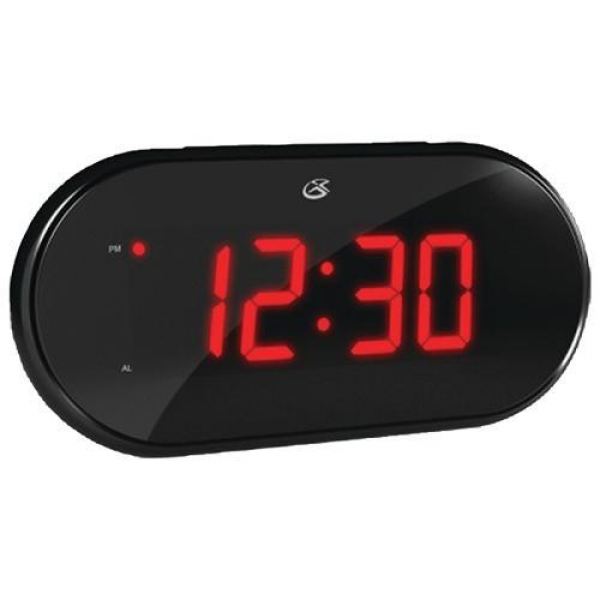 Clock With Dual Alarm And AM/FM Radio, Two Alarm Modes - Wake To Radio ...