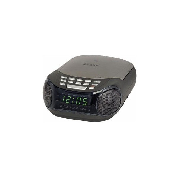 Emerson Dual Alarm Clock With CD Player and AM/FM Radio - TechGriffin ...