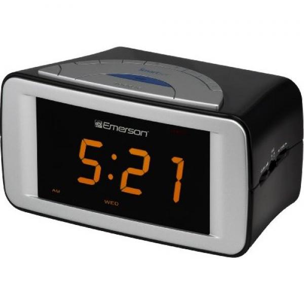 emerson smart set radio alarm clocks radio alarm clocks www top clocks com. Black Bedroom Furniture Sets. Home Design Ideas
