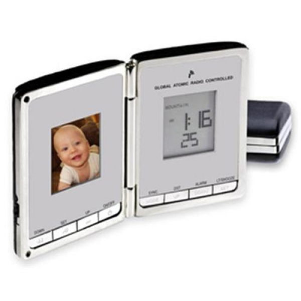 ... 20300 Digi-Companion Global Sync Atomic Clock & Digital Photo Frame