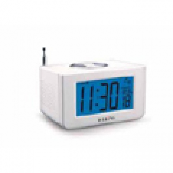 Talking Electric Atomic Clock Radio | Assistive Technology Devices by ...