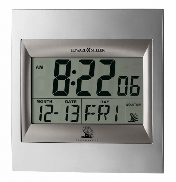 / Wall Clocks / Radio Controlled Clocks / 625236 Howard Miller Radio ...
