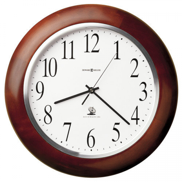 ... Miller Radio Controlled Murrow Adjusted Atomic 13.75'' Wall Clock