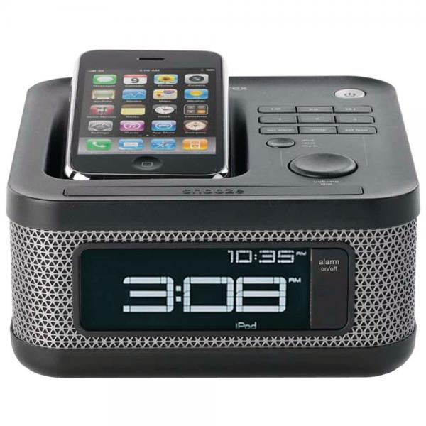 iphone 5 compatible alarm clock iphone alarm clocks www top clocks com. Black Bedroom Furniture Sets. Home Design Ideas
