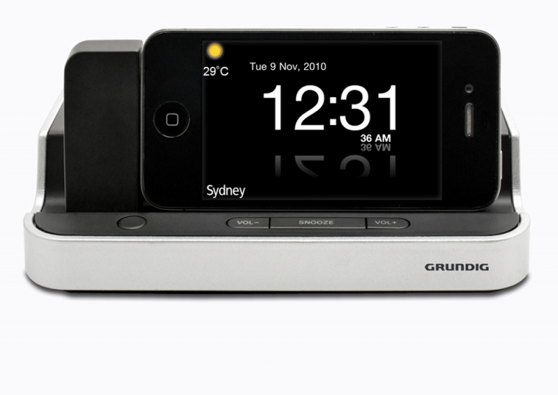 ... - IPD02 - App-Driven Alarm Clock Radio with Dock for iPhone and iPod