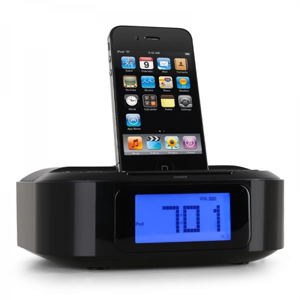 Memorex MI4390 iPod iPhone Docking Station Alarm Clock AUX at the Best ...