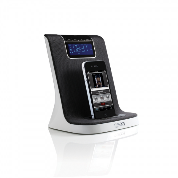 GEAR4 HALO PG490 Alarm Clock ipod/iphone Docking Station with FM Radio ...
