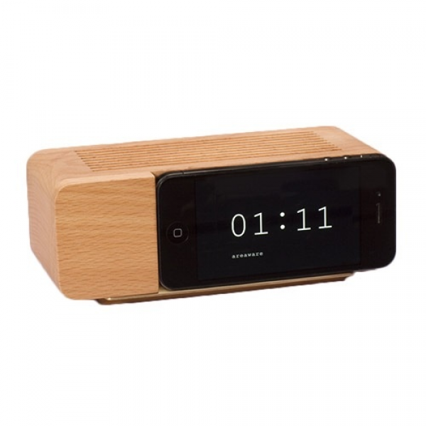 Areaware iPhone dock & alarm clock | Products I Love | Pinterest