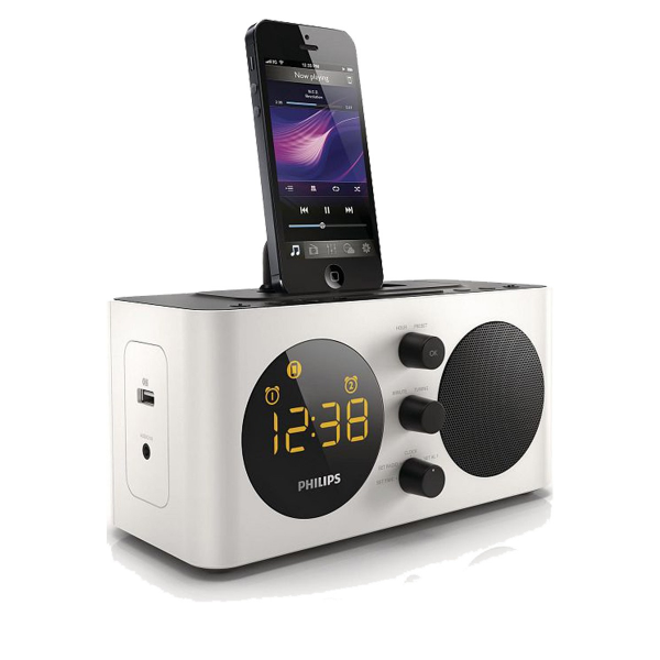 alarm clock radio for iphone 5 iphone alarm clocks www top clocks com. Black Bedroom Furniture Sets. Home Design Ideas