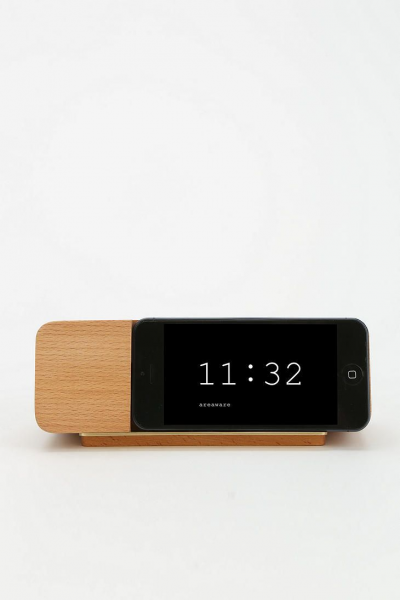 AREAWARE iPhone 5/5s Alarm Clock Dock