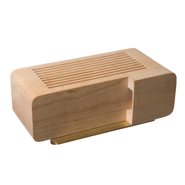 IPHONE ALARM DOCK | Wood Alarm Clock, Areaware | UncommonGoods