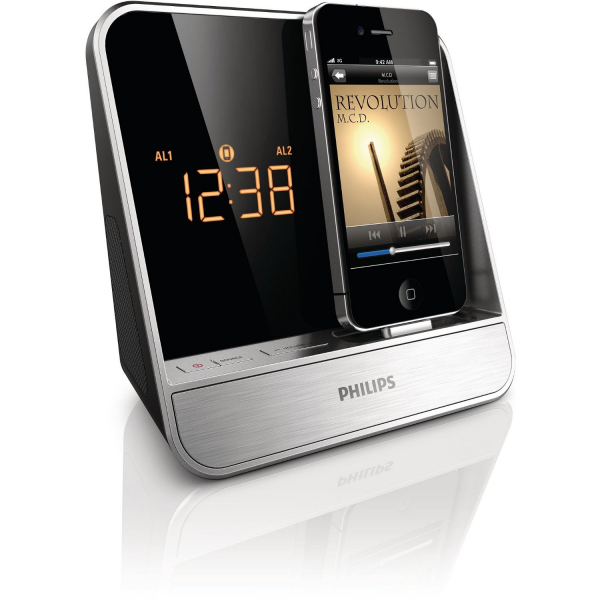Philips AJ5300D/37 Alarm Clock Radio for iPhone -- All iStuff