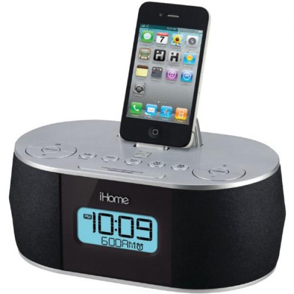 iphone 6 compatible alarm clocks iphone alarm clocks www top clocks com. Black Bedroom Furniture Sets. Home Design Ideas