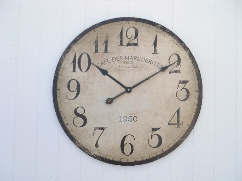 CAFE DE MARGUERITES 1950 - Clocks Buy Station Clocks Buy Reclaimed ...