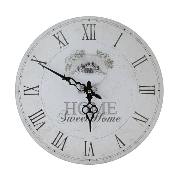 Wall Clock Home Sweet Home