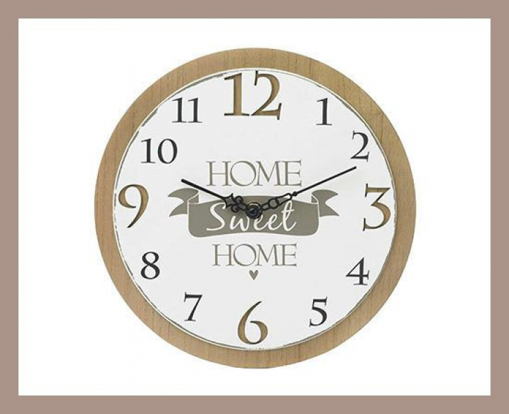 Home > Products > Home Sweet Home Wall Clock