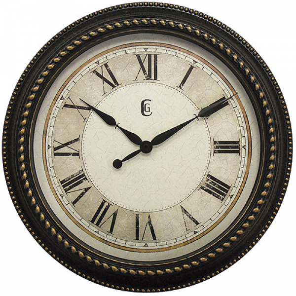 Geneva Decor Clocks 16 Plastic Wall Clock, Antique - Walmart.com