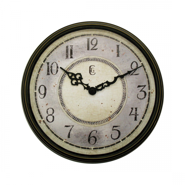 ... Wall Clocks > Transitional Wall Clocks > Geneva Clocks 4433G Plastic