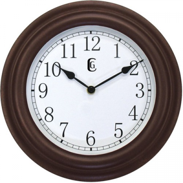 Geneva Decor Clocks 4345G 11 5 Plastic Wall Clock - Kv7507-im - Clocks ...