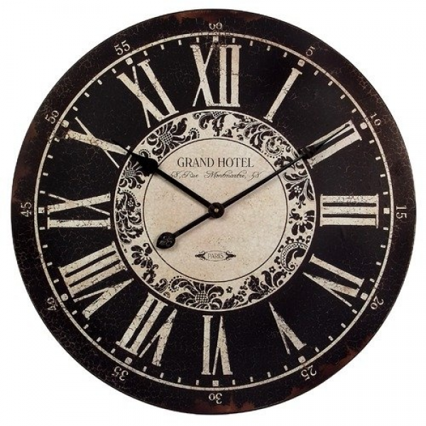 Hotel 23.25 in. Wall Clock