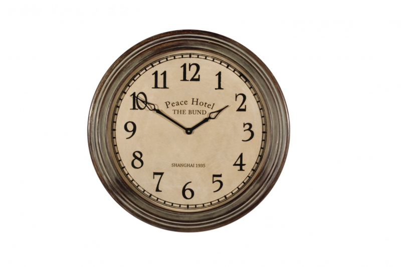 Home » Decor » Home Decor » Clocks » Peace Hotel Wall Clock