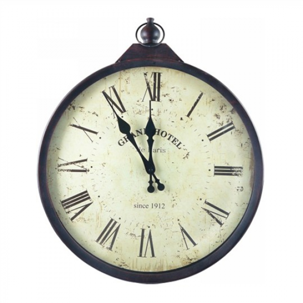 46cm Grand Hotel 1912 Wall Clock