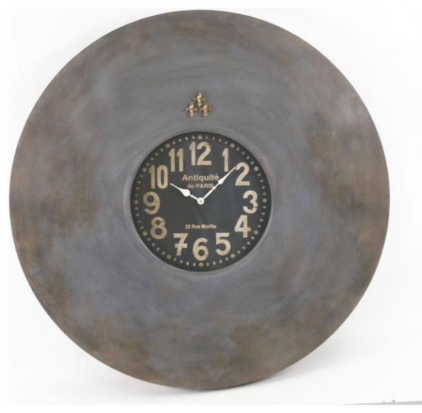 Zentique French Wall Clock - Traditional - Clocks - by Candelabra