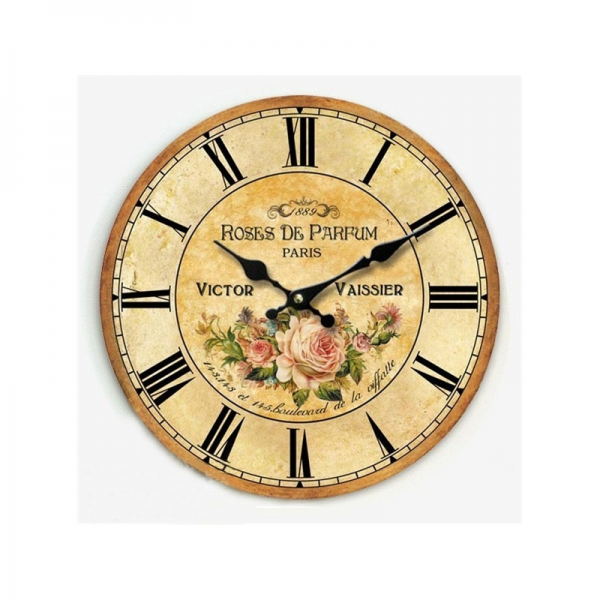 Decorative Clocks - Country Style Wall Clock - Euro Country Style Wall ...