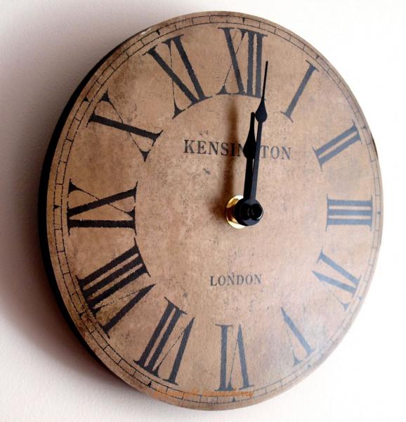 Small kitchen clocks decorative wall clocks www top - Small kitchen clock for wall ...