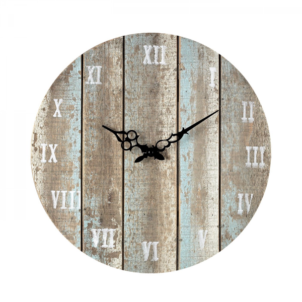 Sterling Industries 128-1009 Wooden Roman Numeral Outdoor Wall Clock
