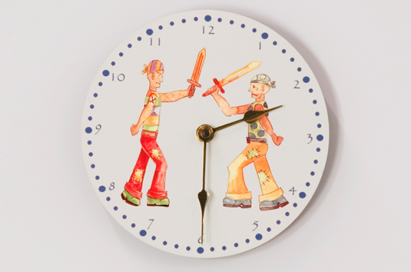 Pirate Wall Clock | Childrens Bed Centres
